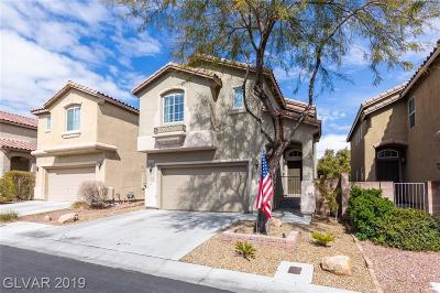 Las Vegas Single Family Home For Sale: 9540 Parker Springs Ct Court
