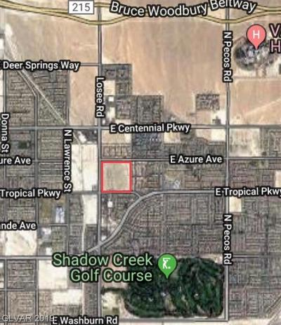 Clark County Residential Lots & Land For Sale: Losee Road
