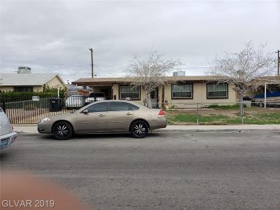 North Las Vegas Single Family Home For Sale: 632 Van Ert Avenue