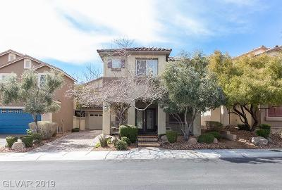 Las Vegas Single Family Home For Sale: 8397 Teton Crest Place