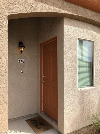 Las Vegas Condo/Townhouse For Sale: 7701 West Robindale Road #276