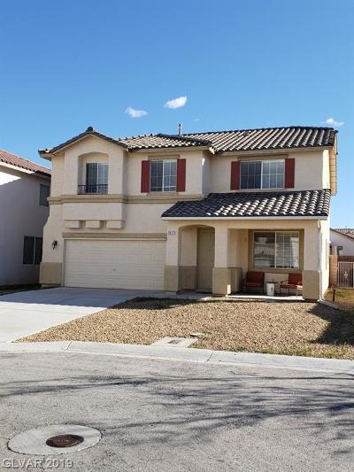 Las Vegas Single Family Home For Sale: 7617 Brambleberry Court
