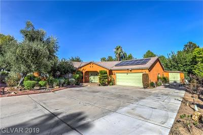 Las Vegas Single Family Home For Sale: 2760 Oakleigh Willow Way