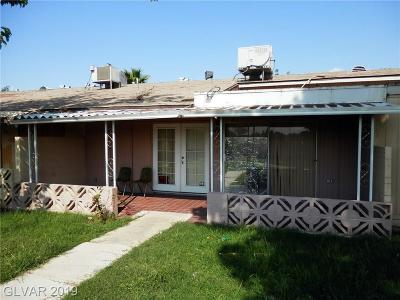 Las Vegas NV Condo/Townhouse For Sale: $80,000