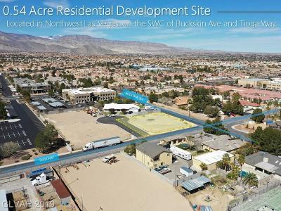Centennial Hills Residential Lots & Land For Sale: Buckskin Ave