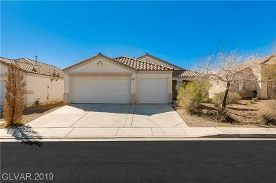 North Las Vegas Single Family Home Under Contract - Show: 3425 Pastori Valley Court