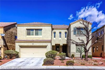 North Las Vegas Single Family Home Under Contract - No Show: 1420 John Bevy Court