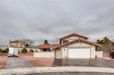 Las Vegas Single Family Home Under Contract - No Show: 5010 Mick Place