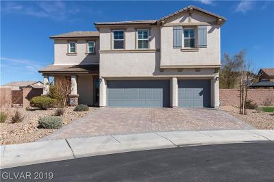 Henderson Single Family Home For Sale: 3632 Via Certaldo Avenue