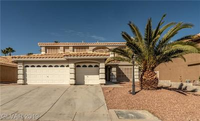 Las Vegas Single Family Home For Sale: 8228 Fawn Meadow Avenue