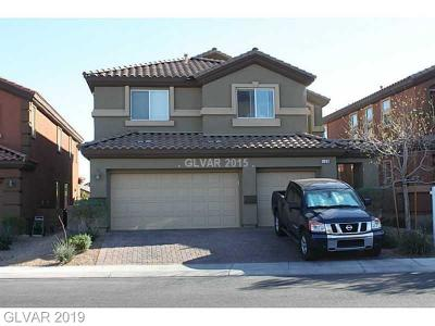 North Las Vegas Single Family Home For Sale: 109 Stablewood Court