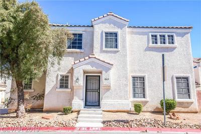 North Las Vegas Single Family Home For Sale: 2609 Positive Court