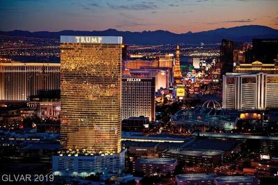 Trump Intl Hotel & Tower-, Trump Intl Hotel & Tower- Las, Signature At Mgm, Palms Place A Resort Condo & S, Vdara Condo Hotel, Platinum Resort Condo High Rise For Sale: 2000 Fashion Show Drive #5326