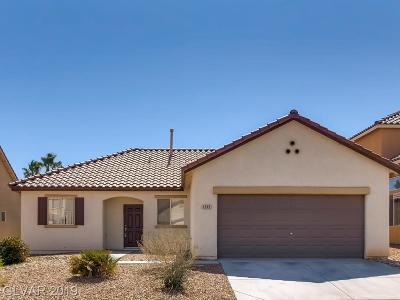 North Las Vegas Single Family Home Under Contract - No Show: 1015 Cove Palisades Drive