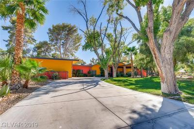 Boulder City, Henderson, Las Vegas, North Las Vegas Single Family Home For Sale: 2850 South Mojave Road #E