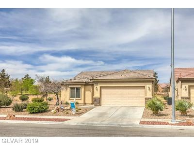 Boulder City, Henderson, Las Vegas, North Las Vegas Single Family Home For Sale: 7609 Broadwing Drive