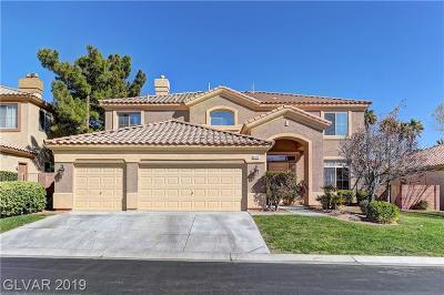 Las Vegas Single Family Home For Sale: 9484 Los Cotos Court