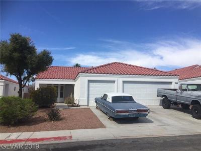 North Las Vegas Single Family Home For Sale: 4705 Mountain Tree Street