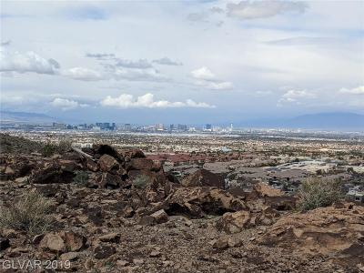 Henderson Residential Lots & Land For Sale: Climbing Canyon Drive