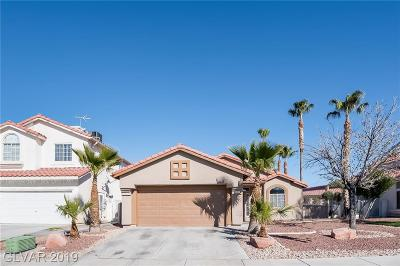 North Las Vegas Single Family Home For Sale: 3744 Coleman Street