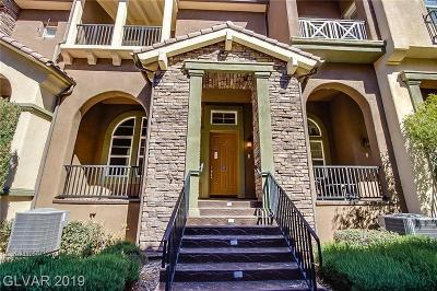 Henderson Condo/Townhouse For Sale: 3 Corte Vita
