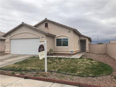 North Las Vegas Single Family Home For Sale: 2316 Ashwell Court