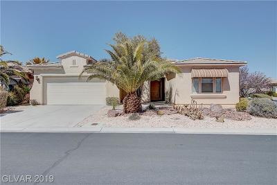 Las Vegas Single Family Home For Sale: 10358 Riva Largo Avenue