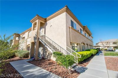 Las Vegas Condo/Townhouse For Sale: 3400 Cabana Drive #1068