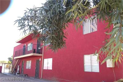 North Las Vegas Multi Family Home For Sale: 2153 Daley Street