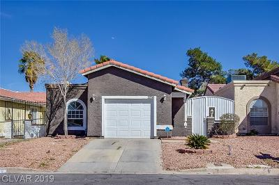 Las Vegas NV Single Family Home Under Contract - No Show: $193,000