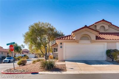 Las Vegas Condo/Townhouse Under Contract - No Show: 7811 Gable Lane