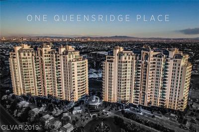 One Queensridge Place Phase 1 High Rise For Sale: 9103 Alta Drive #302