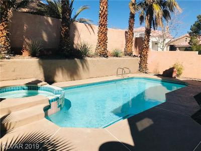 Las Vegas Single Family Home For Sale: 2245 Maple Rose Drive