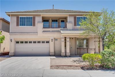 Las Vegas Single Family Home For Sale: 3046 Lenoir Street