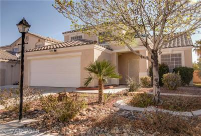 North Las Vegas Single Family Home For Sale: 5116 Water Coconut Street