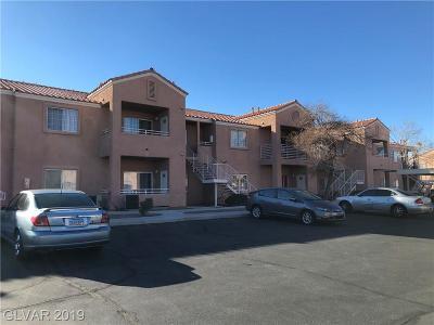 North Las Vegas Condo/Townhouse For Sale: 3318 North Decatur Boulevard #1035