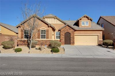 North Las Vegas Single Family Home Under Contract - Show: 8224 Pink Desert Street