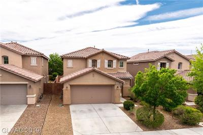 North Las Vegas Single Family Home For Sale: 6516 Cape Petrel Street