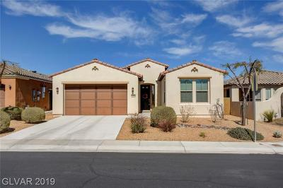North Las Vegas Single Family Home For Sale: 3808 Jasmine Heights Avenue