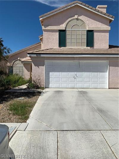 North Las Vegas Single Family Home For Sale: 6121 Flaming Arrow Road