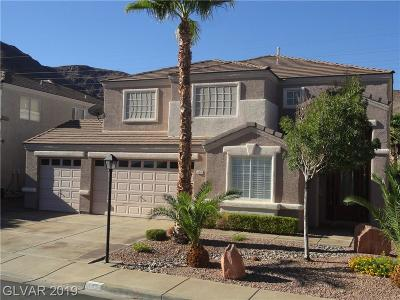 Henderson Single Family Home For Sale: 639 Backbone Mountain Drive