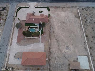 Boulder City, Henderson, Las Vegas, North Las Vegas Single Family Home For Sale: 5720 North Campbell Road