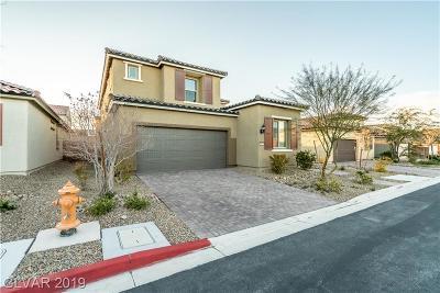 Las Vegas Single Family Home For Sale: 7133 Manolo Street