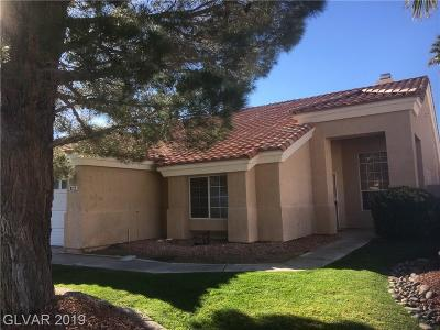 Las Vegas Single Family Home For Sale: 8213 Cedar Mesa Avenue