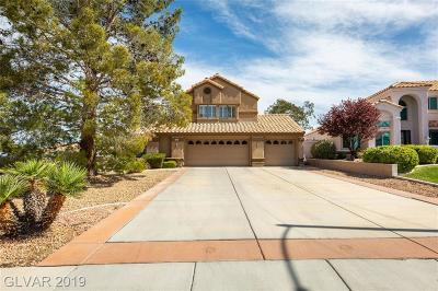 Henderson Single Family Home For Sale: 2625 White Pine Circle