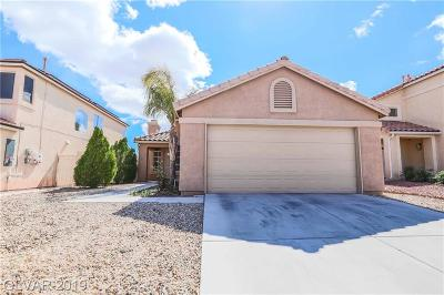 North Las Vegas Single Family Home For Sale: 1613 Council Bluff Lane