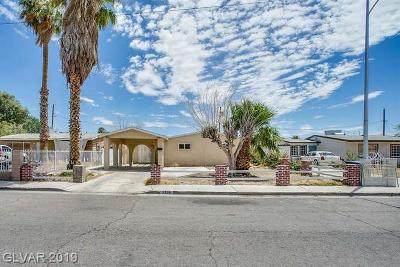 North Las Vegas Single Family Home Under Contract - Show: 2736 Spear Street