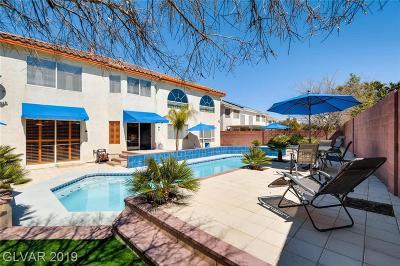 Las Vegas Single Family Home For Sale: 6491 Bright Nimbus Avenue
