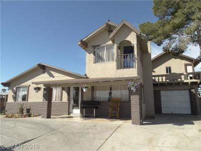 North Las Vegas Single Family Home For Sale: 3429 Nipper Street