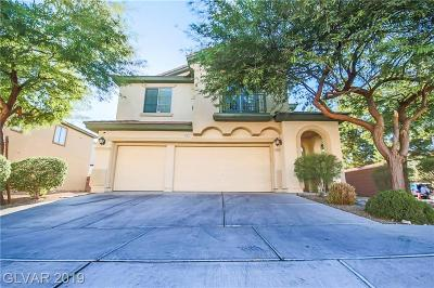 North Las Vegas Single Family Home For Sale: 4021 Coleman Street